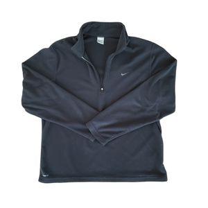 Men's Nike Therma Fit Black 1/4 Zip Fleece - Large
